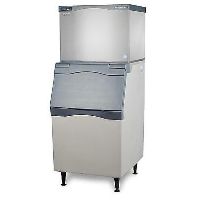 Scotsman Ice Maker 500lb Ice Machine Air Cooled Ice Bin 420lb Cap