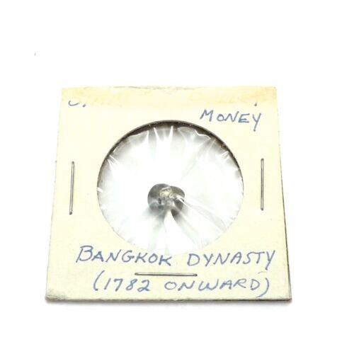 1782 Onward Bangkok Dynasty Thailand Money Silver
