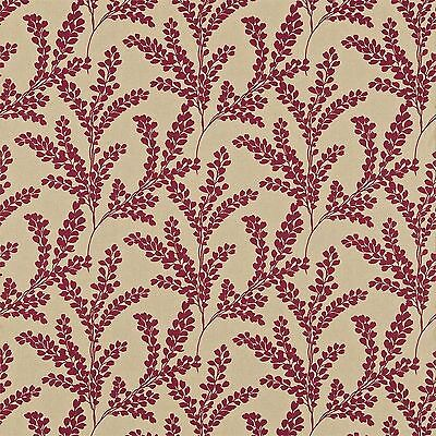 SANDERSON CLOVELLY CLARET FABRIC 3.15 METRES