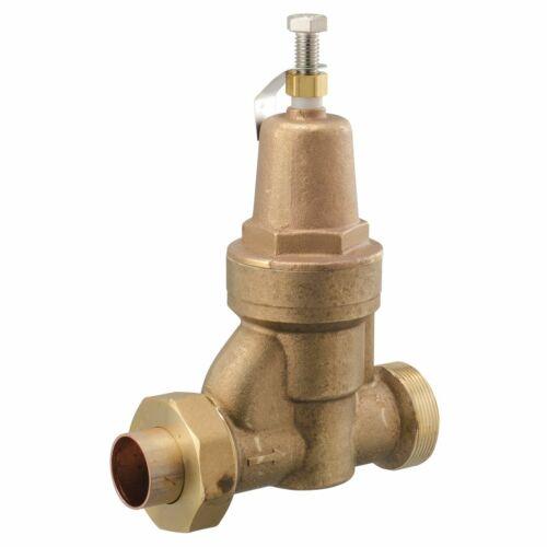 Watts, 2 IN Lead Free Brass Water Pressure Reducing Valve, 2 LFN55BU-S