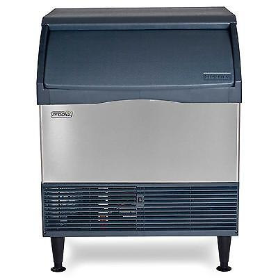 Scotsman Cu3030sa-1 Undercounter 250lb Ice Maker Machine W 110lb Bin Small Cube