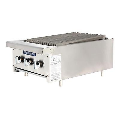 Radiance Tarb-18 18 Counter Top Radiant Gas Broiler 45000 Btu