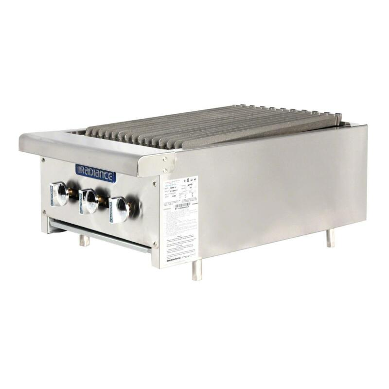 "Radiance Tarb-18 18"" Counter Top Radiant Gas Broiler 45,000 Btu"