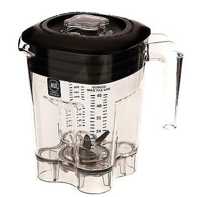 Waring Cac93x 48oz. Bpa-free Replacement Container For Mx Series Blender