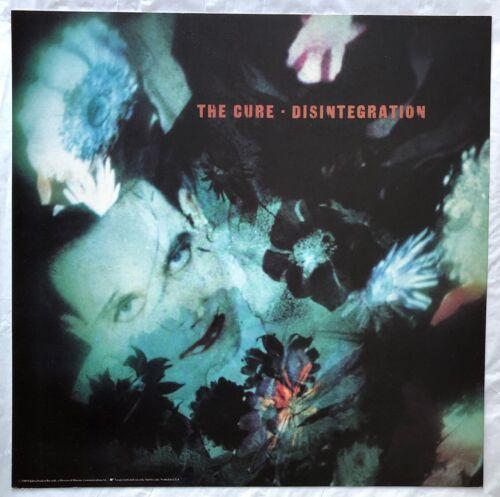 The Cure Disintegration RARE original promo 12 x 12 album flat