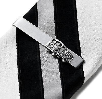 Fire Truck Tie Clip