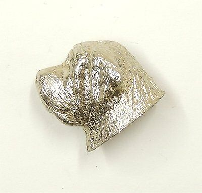 Mastiff Lapel Pin/Brooch