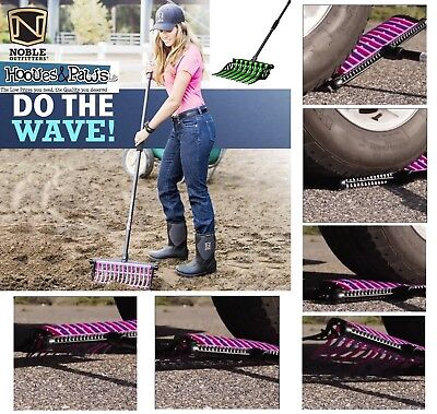 Wave Fork Noble Outfitters Pitchfork Manure Rake Heavy Duty Tines All Colors