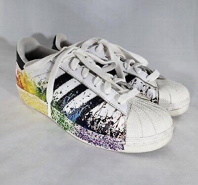 Adidas Original Superstar LGBT paint