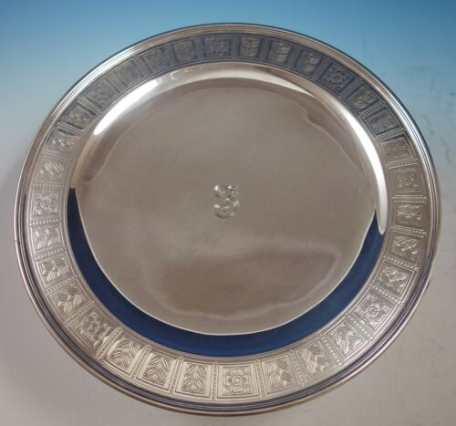 "Palmette by Tiffany & Co. Sterling Silver Pedestal Serving Plate 12"" (#2875)"