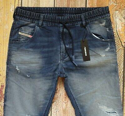 """NEW DIESEL KRAILEY-NE Sweat Jeans Size W30/WAIST ACROSS 16""""x"""