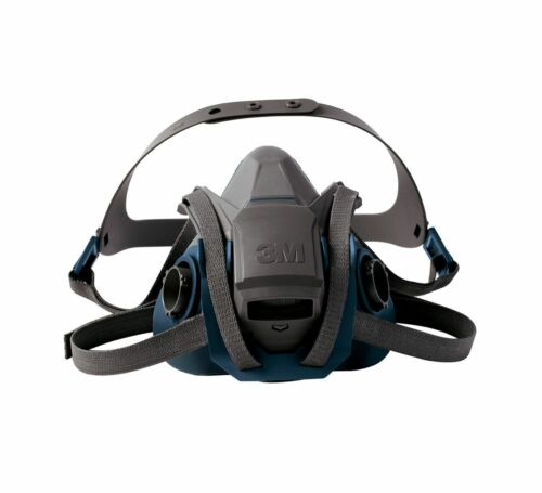 3M 6502QL Rugged Comfort Quick Latch Reusable Respirator, Medium