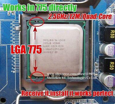 X5460 3.16GHz/12M/1333 Works On LGA775 Quad Core Processor
