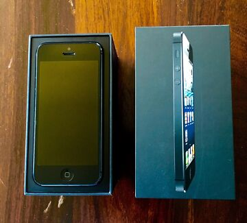 iPhone 5 64GB Space Grey Albert Park Port Phillip Preview
