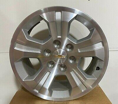 """Set of 4 New Takeoff OEM 18"""" Solid Spoke Chevrolet Silverado Wheels Lugs 6x5.5"""