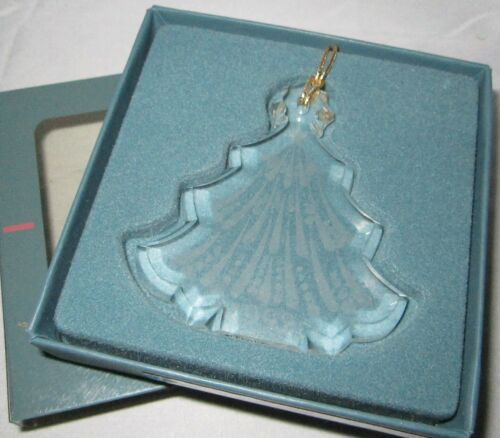 1992 Lenox Crystal Christmas Tree Ornament