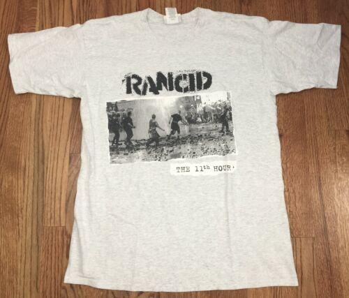 Vintage 1995 Rancid The 11th Hour Concert Tour XL Shirt Punk Rock Band