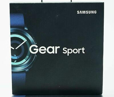 Brand New Samsung Galaxy Gear Sport SM-R600 Bluetooth Fitness Smart Watch BLUE