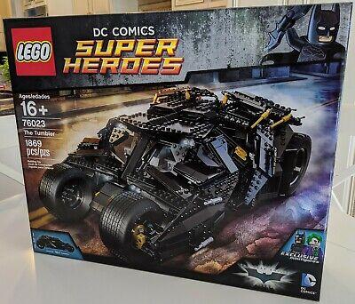 LEGO 76023 Tumbler Batman DC Super Heroes BRAND NEW SEALED MINT CONDITION