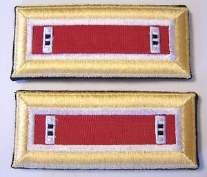 ARMY-SHOULDER-BOARDS-STRAPS-ENGINEER-CORPS-CWO2-PAIR-MALE-NIP