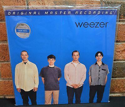 WEEZER - Blue Album/ ST, Ltd 2LP Audiophile BLUE MARBLED COLORED VINYL #'d NEW