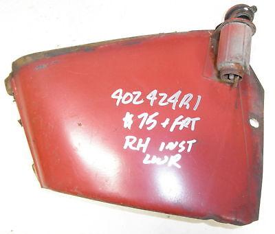 Case Ih Rh Lower Instrument Panel 402424r1 Fits 464 574 Tractors