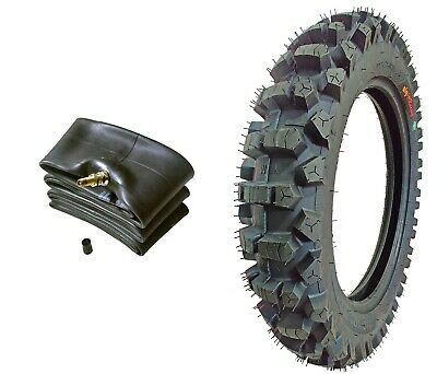 WIG Racing 110/90-19 Dirt Bike Tire and Tube Combo