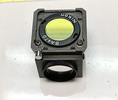Nikon Dm 400b-2a Fluorescence Filter. 12810