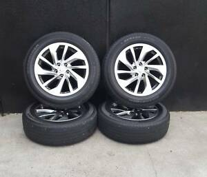 SECONDHAND GENUINE Nissan X-Trail 18 inch Wheels and Tyres Preston Darebin Area Preview