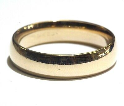 Comfort Fit Fancy Wedding Band - 14k yellow gold mens fancy wedding band ring 8.9g gents comfort fit 13