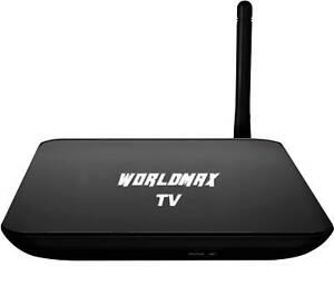 Worldmax 4K IPTV Box,life time TV channel,movie,sport,show,wty