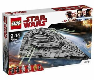 LEGO Star Wars First Order Order Order Star Destroyer - 75190 - NEW d29f41