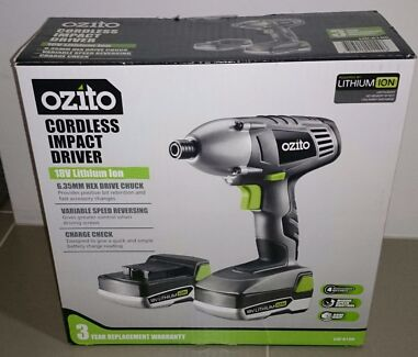 Ozito cordless Impact driver Canning Vale Canning Area Preview