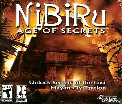 Computer Games - NiBiRu Age Of Secrets PC Games Windows 10 8 7 Computer point and click adventure