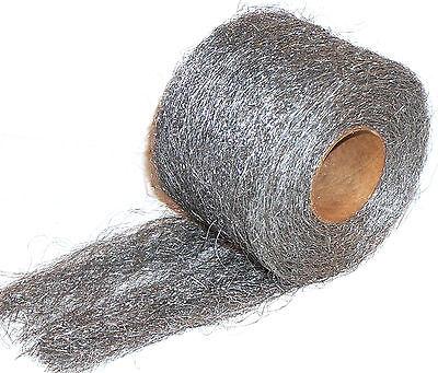 Stainless Steel 434 Wool Roll 1 lb Reel - Coarse