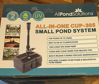 Allpondsolutions CUP-305Small Pond System All-in-one Filter