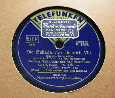 Vier Nachrichter - Die Ballade von Heinrich VIII./ Die Ballade vom trojanischen