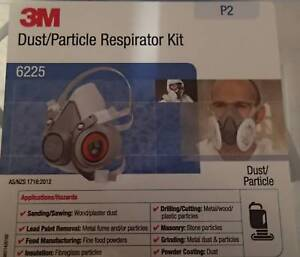 3M DUST/PARTICLE RESPIRATOR KIT 6225 P2 Biggera Waters Gold Coast City Preview
