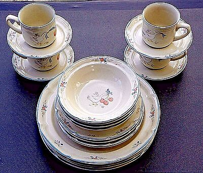 MARMALADE by INTERNATIONAL CHINA ~ 20 PIECE SET ~ Microwave ~ Dinner for 4, 8 .&