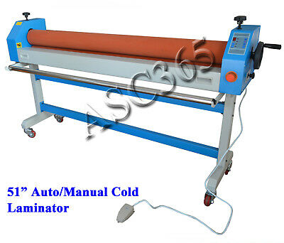 Heavy Duty Electric Manual 51in 1.3m Cold Laminating Machine Plywood Package