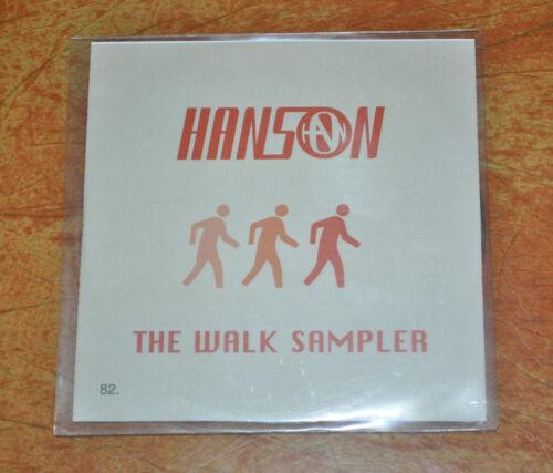 EXTREMELY RARE Hanson The Walk Sampler UK 4 Track Promo CD!