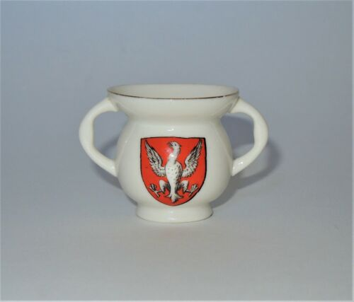 W. H. GOSS Crested Heraldic China Miniature Model of Abbots Cup Fountains Abbey