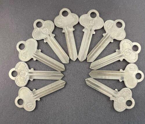 Lots of CO62 R1001EG 6CO5 Type 6 Pin Key Blanks for Corbin X1-77-6 Keyway