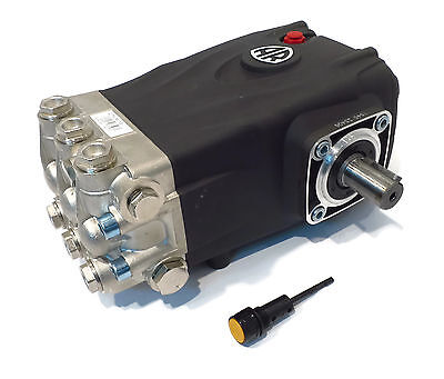 Pressure Washer Pump Replaces Interpump Ws202 - 3600 Psi 5.5 Gpm Solid Shaft