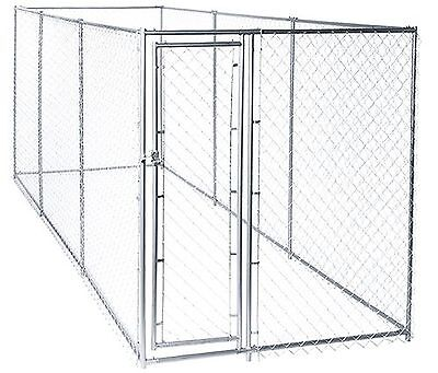 Lucky Dog Chain Link Boxed Kennel 191670