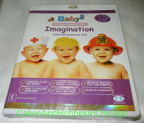 Baby 2 Imagination DVD Infant Development It's the Power of You! Baby2 - NEW