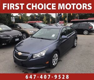 2013 Chevrolet Cruze LT. ~AUTOMATIC, LOADED, FULLY CERTIFIED~