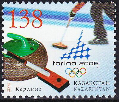 Kazakhstan Olympic Games Turin 2006 MNH-3 Euro