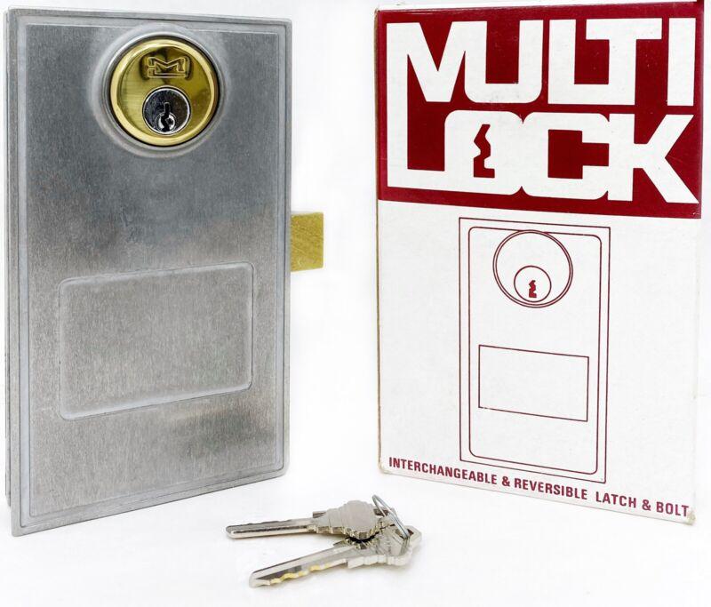 Multi Lock 104-O-KD Interchangeable & Reversible Latch & Bolt W/ 2-Keys.