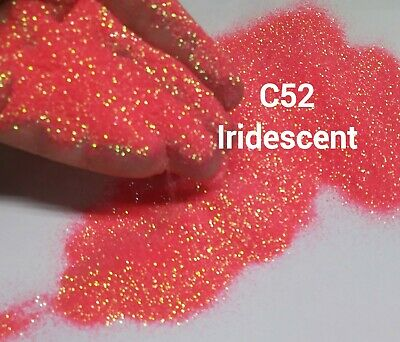 10 grams .008 ultra fine Polyester Iridescent body face nails -